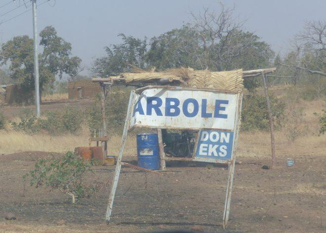 Arbollé - Panneau entrée -