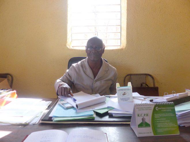 Pabéouindé Ouedraogo - Préfet d'Arbollé - 14 février 2018.