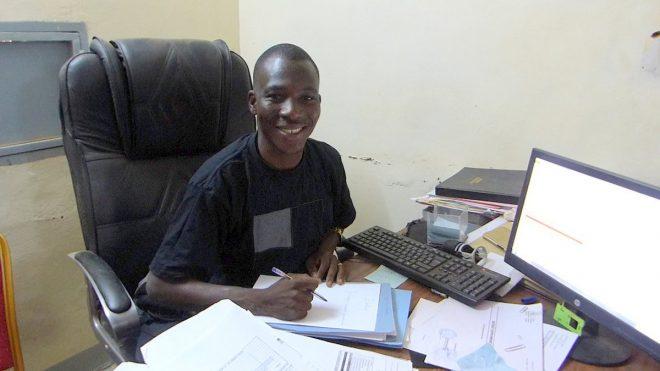 Paul Ouedraogo, comptable mairie - 16 février 2018