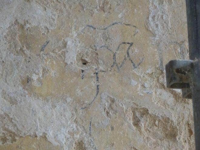 Ars-en-Ré - Travaux église - Dessins - 26 mars 2018