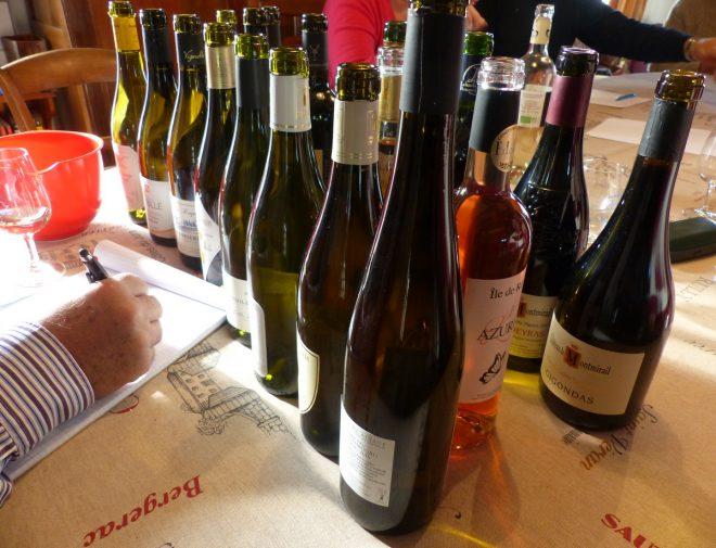 Les Portes-en-Ré - Dégustation avant Salon du Vin - 3 mai 2018