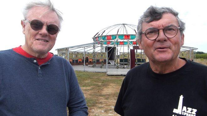 Jazz au Phare 2018 - Jean-Michel Proust et Jean Chavinier - 1er aout 2018