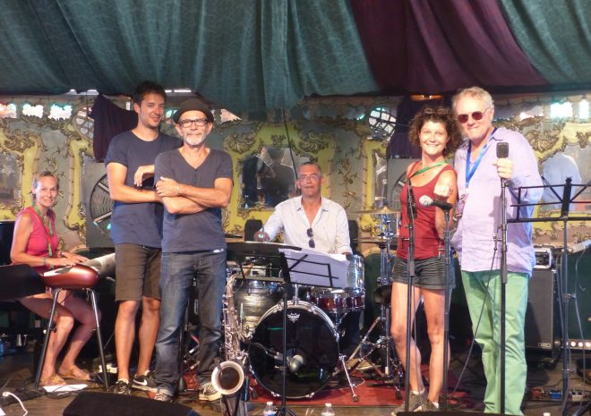 Jazz au Phare 2018 - Jury du tremplin Révélations - 6 août 2018