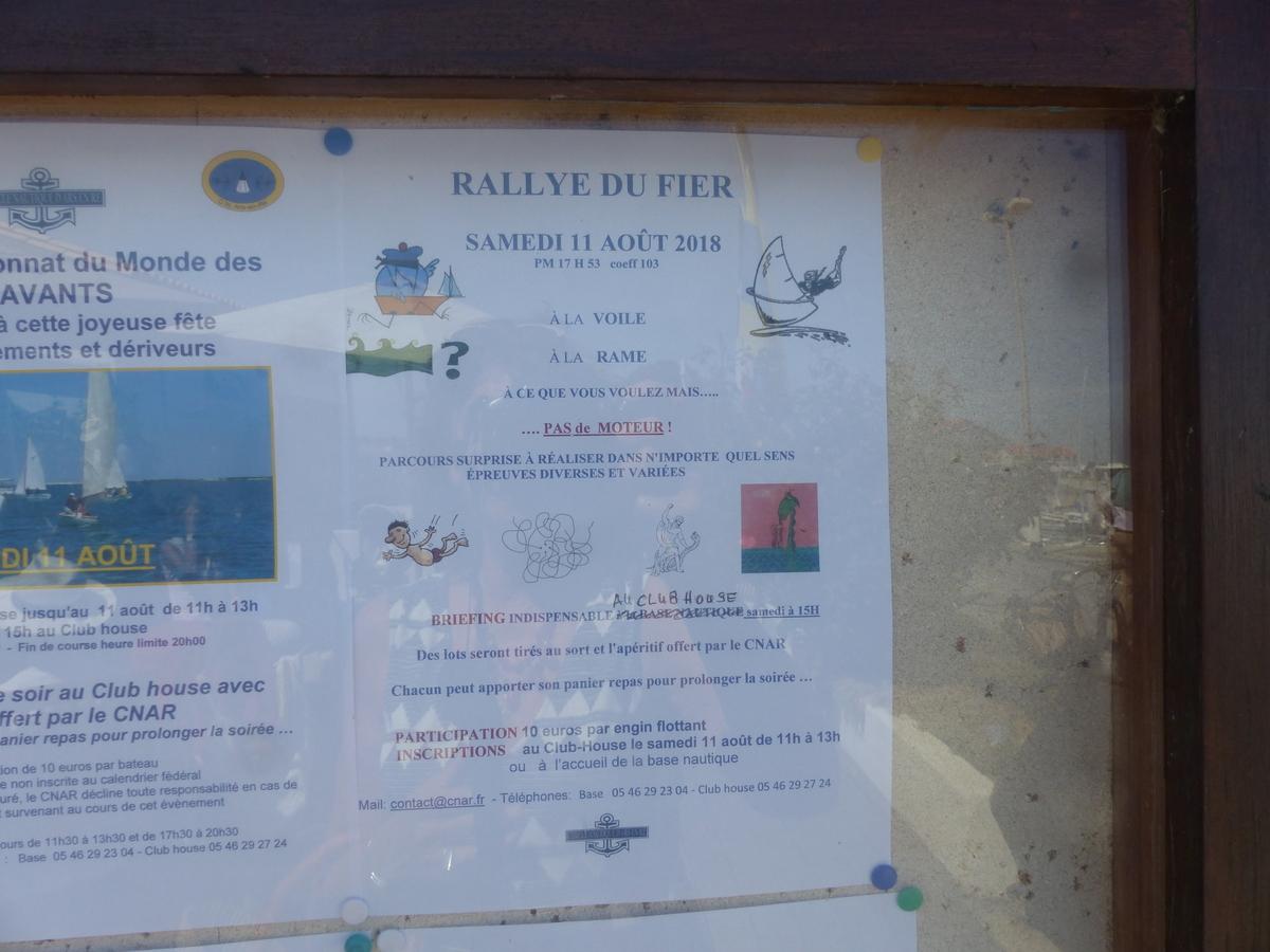 Affiche Rallye du Fier - 11 août 2018