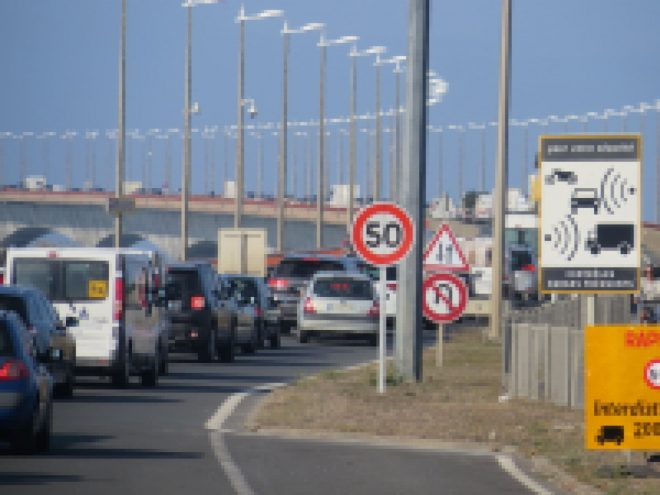Pont de l'île de Ré - 20 septembre - Photo JB