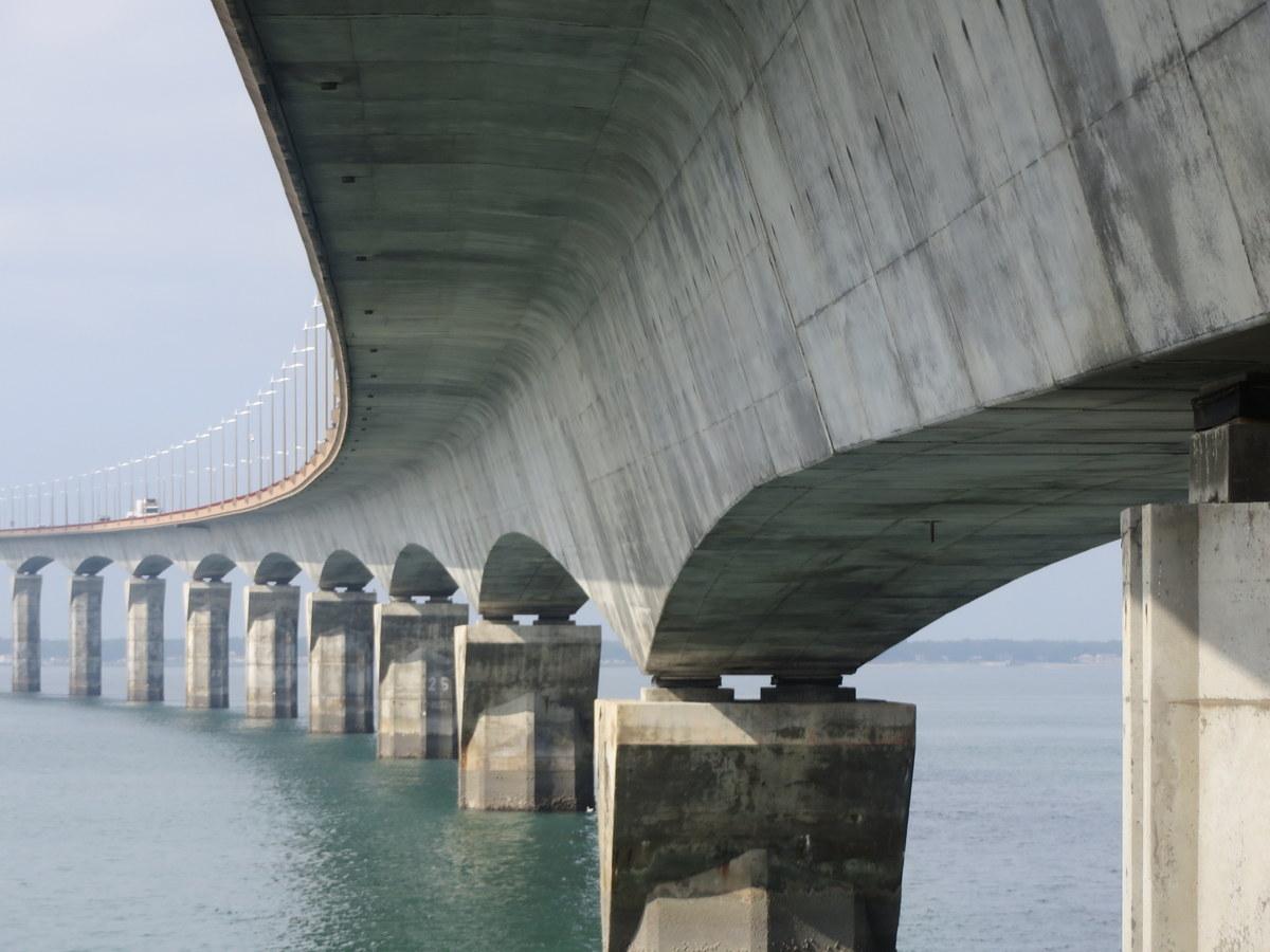 Pont de l'île de Ré - 20 septembre 2018 - Photo JB