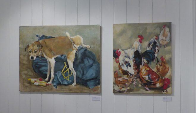 Musée Ernest Cognacq - Expo Chantal Gousseau - juin à octobre 2018