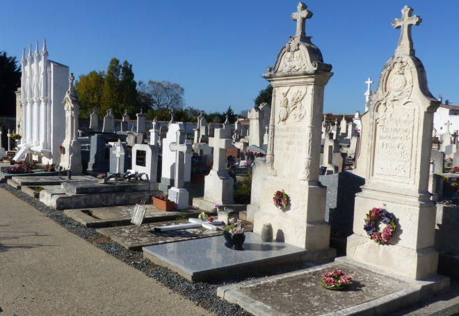 Ars-en-Ré - Tombes des Morts pour la France 14-18 - 24 octobre 2018