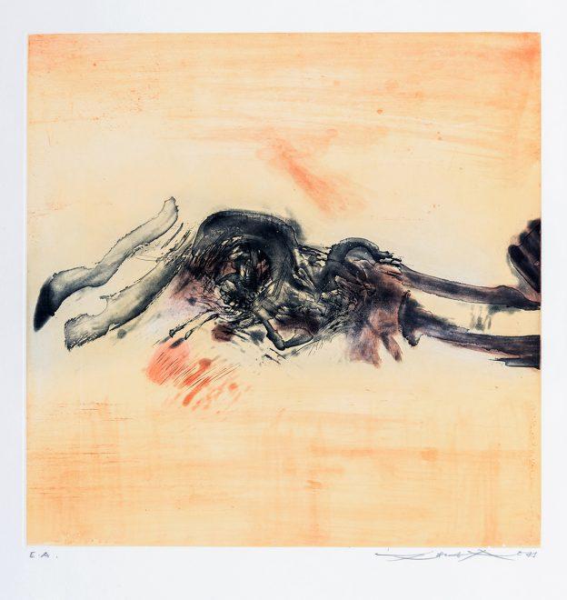 Zao Wou-Ki - Sans titre - 1973.