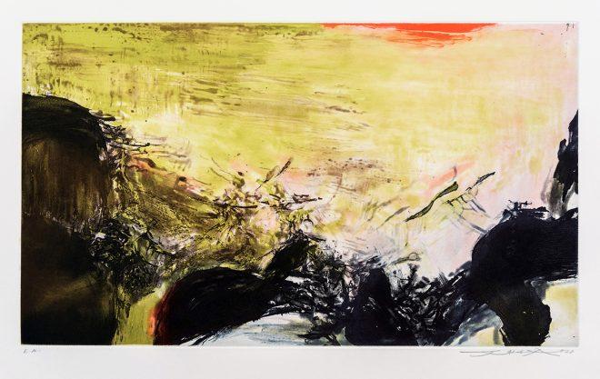 Zao Wou-Ki - Sans titre - 1978