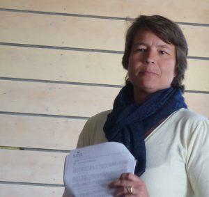 Dorothée Kendall - Directrice de la Coopérative des sauniers de l'île de Ré - 4 mai 2018