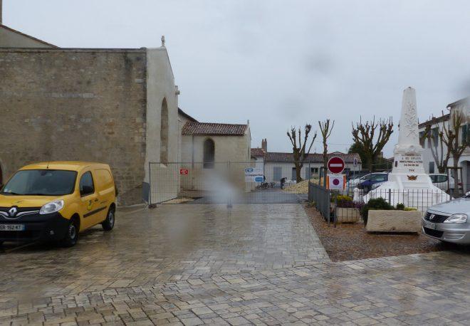 Eglise Ars - Travaux de drainage - 10 octobre 2018