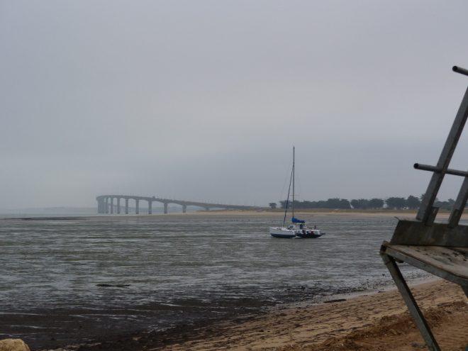 Rivedoux-Plage - Travaux digue - Pont - 25 octobre 2018