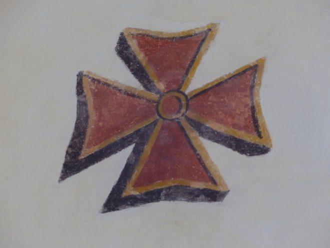 Eglise Ars - Restauration Croix de Consécration - 29 octobre 2018