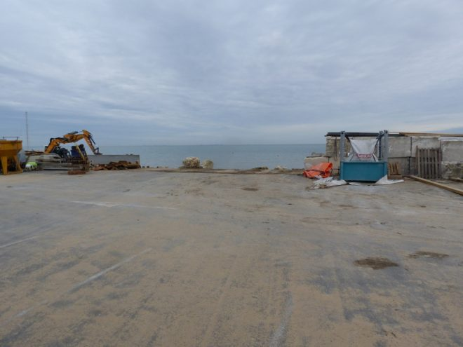 Rivedoux-Plage - Travaux digue - 31 octobre 2018