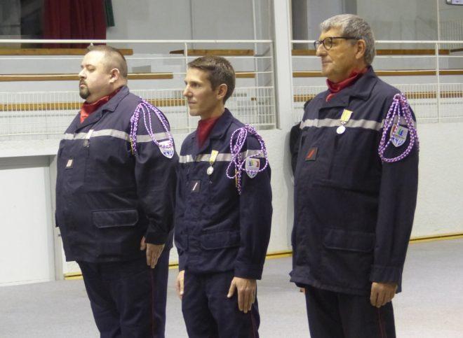 Ile de Ré - Médaille d'argent des pompiers - 7 décembre 2018