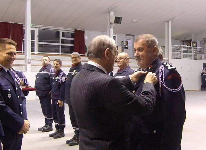 Ile de Ré - Médaille Grand'Or des pompiers - 7 décembre 2018