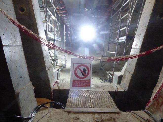 Pont de l'île de Ré - Réparation câble - 20 décembre 2018