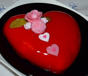 Gâteau coeur de Kiki - 30 décembre 2018