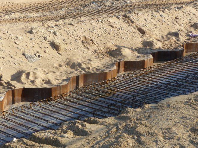 Rivedoux - Reconstruction digue - Palplanches - 15 novembre 2018