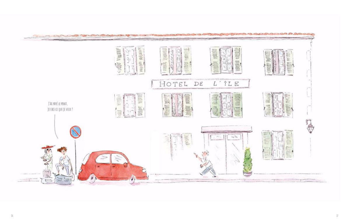 Yann Werdefroy – Ré Drôle de saison – Hôtel – mars 2019