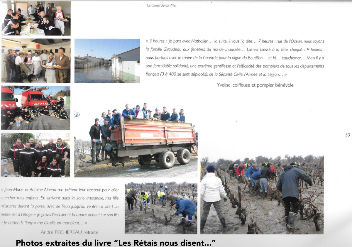 La Couarde - Xynthia - Les Rétais nous disent... mars 2010