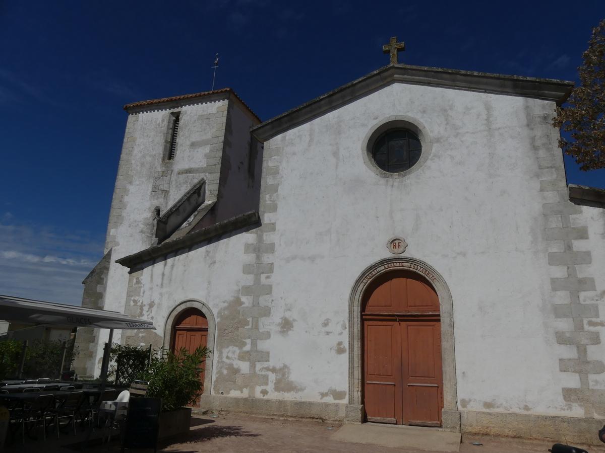 Loix - Eglise - 4 septembre 2019