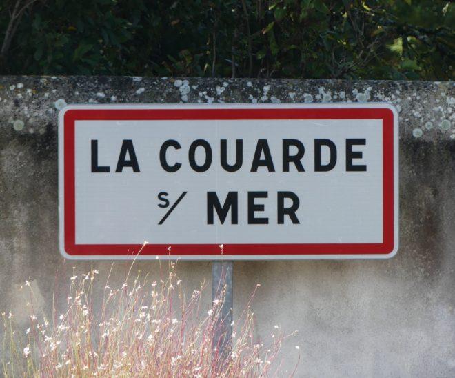 Panneau La couarde-sur-Mer - 24 septembre 2019