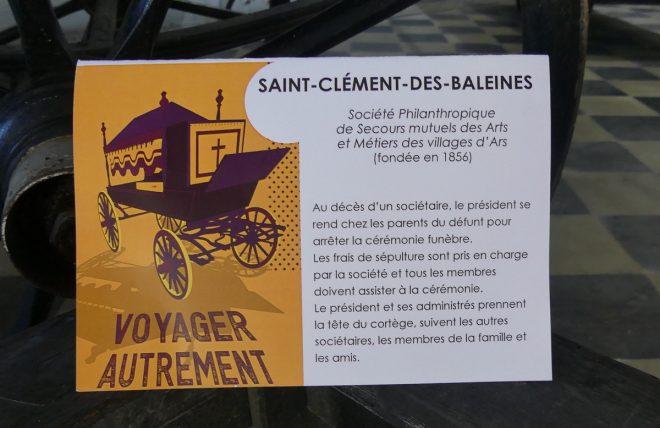 Ile de Ré - Expo Voyager autrement -  Saint-Clément - oct/nov 2019