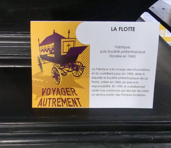 Ile de Ré - Expo Voyager autrement -  La Flotte - oct/nov 2019