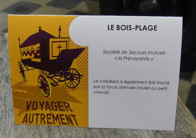 Ile de Ré - Expo Voyager autrement - Le Bois - oct/nov 2019