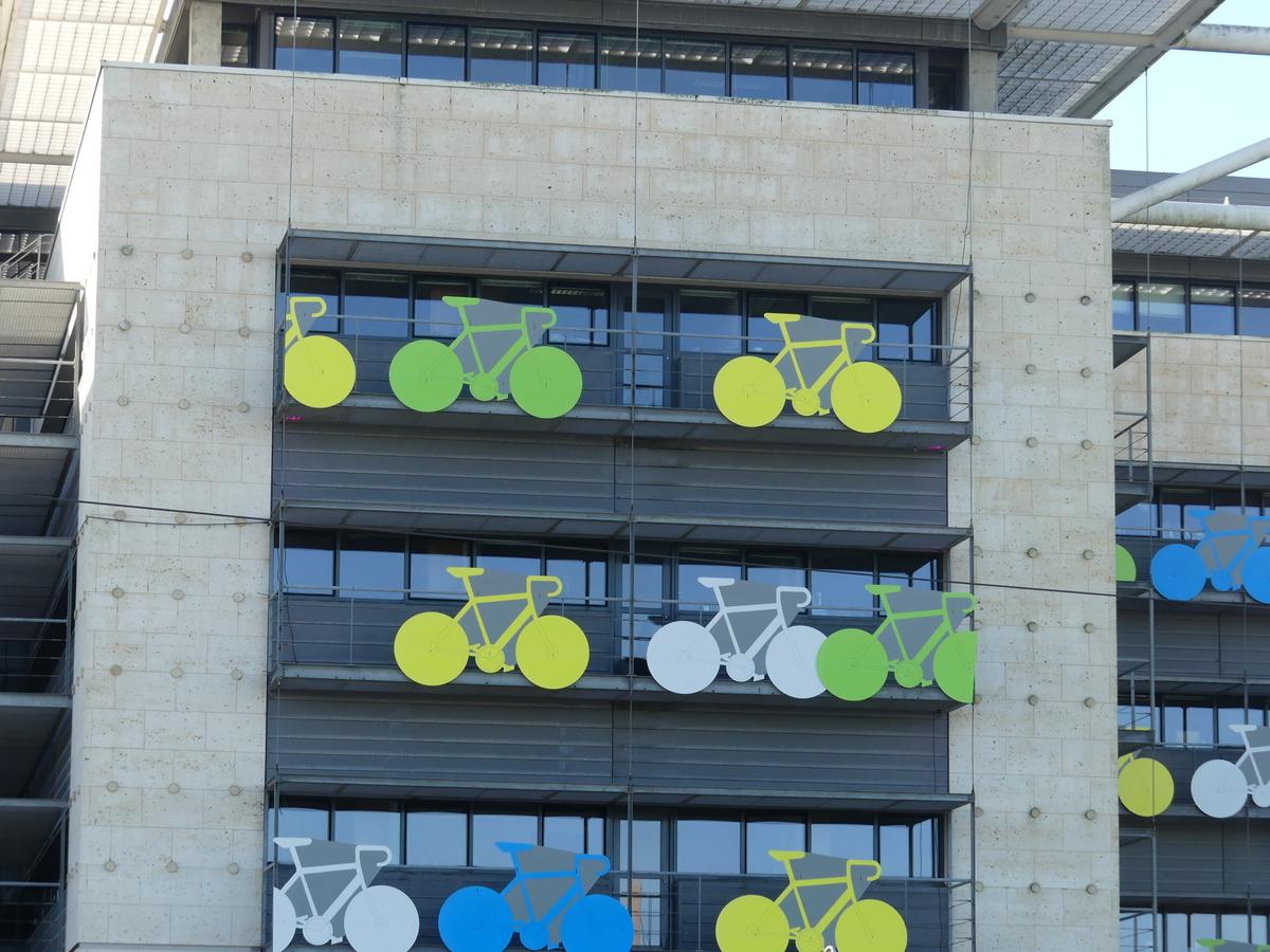 Tour de France Charente-Maritime - Immeuble Département - Octobre 2020