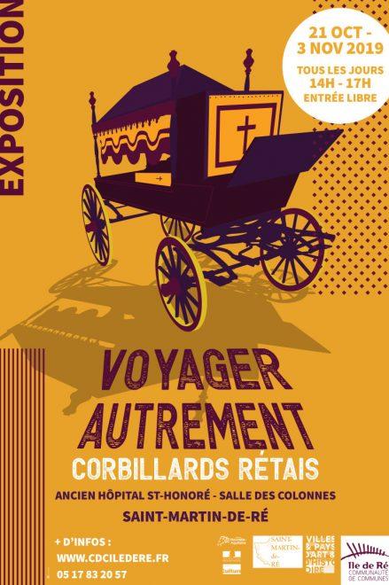 Affichette expo Voyager autrement - 23 octobre au 1er novembre 2019