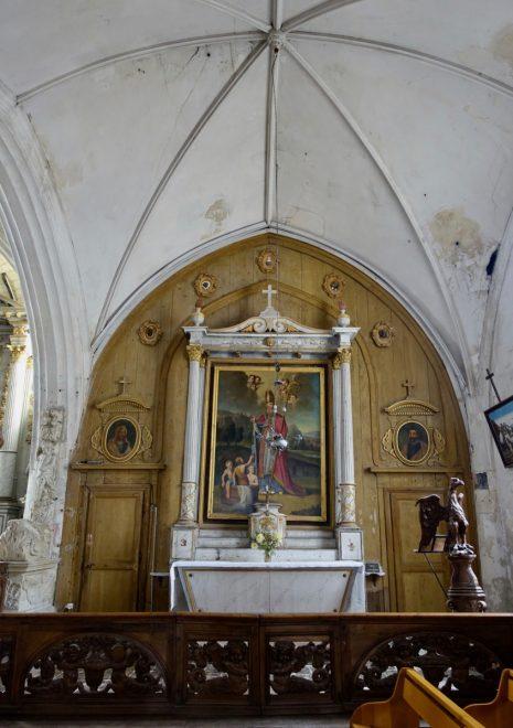 Ars - Eglise - Retable - Photo GABS 30 juillet 2018