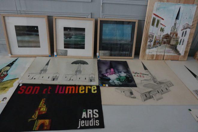 Ars - Expo mécénat - Photo GABS - 30 juillet 2019