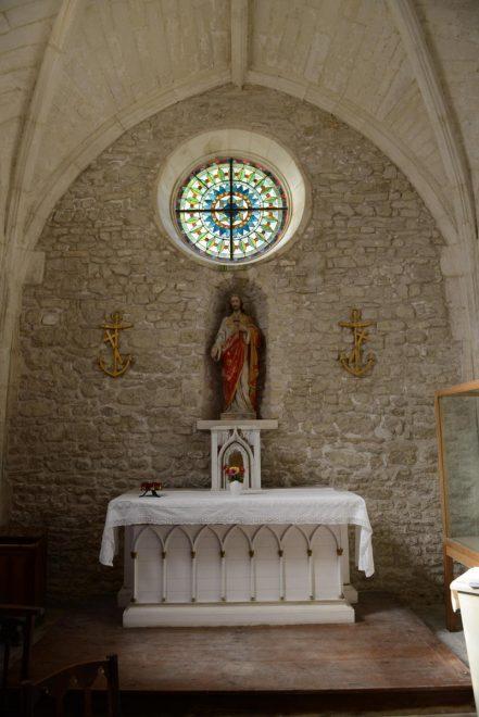 Ars - Eglise - chapelle Saint-Nicolas - Photo GABS - 30 juillet 2019