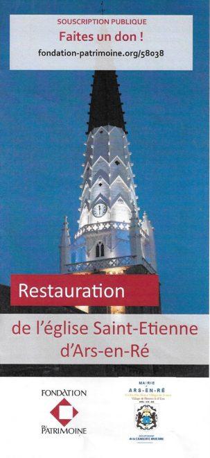 Ars - Eglise - Doc Fondation du Patrimoine - avril 2018