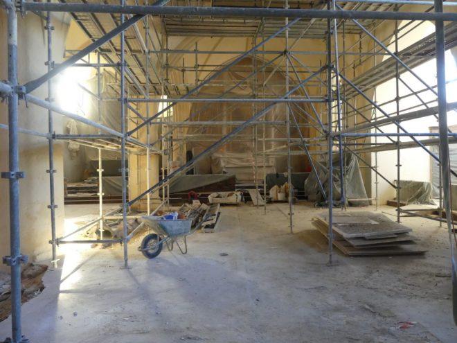 Ars - Eglise - Travaux allée Saint-Nicolas - 12 septembre 2019