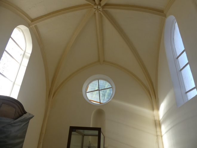Ars - Eglise -Plafonds voûtés terminés - 12 septembre 2019
