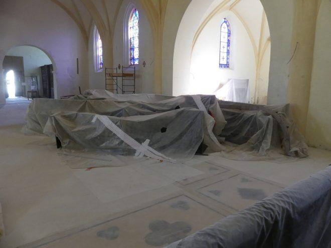 Ars - Stalles noires église - 12 septembre 2019