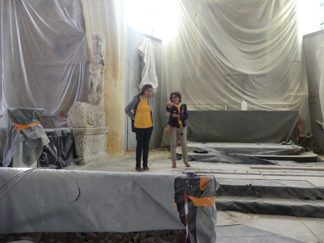 Ars - Eglise - Réunion de chantier - 12 septembre 2019