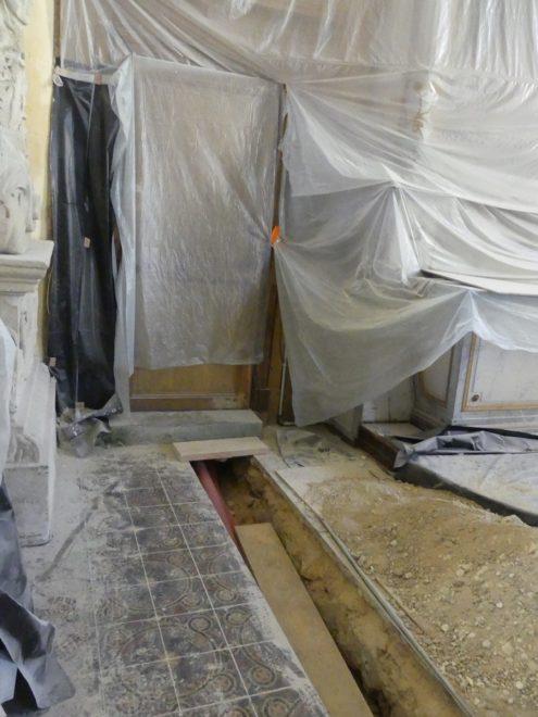 Ars - Eglise - Travaux accès sacristie - 12 septembre 2019
