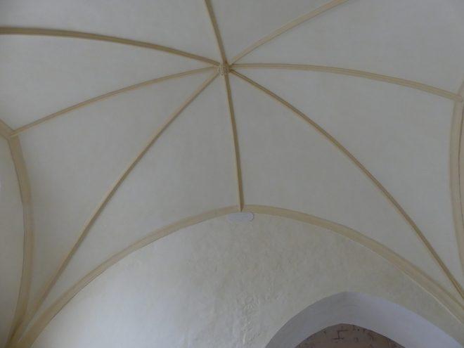 Ars - Eglise -Plafonds voûtés terminés - 26 septembre 2019