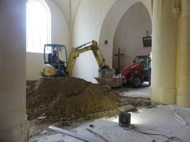 Ars - Eglise - Travaux allée Saint-Nicolas - 26 septembre 2019