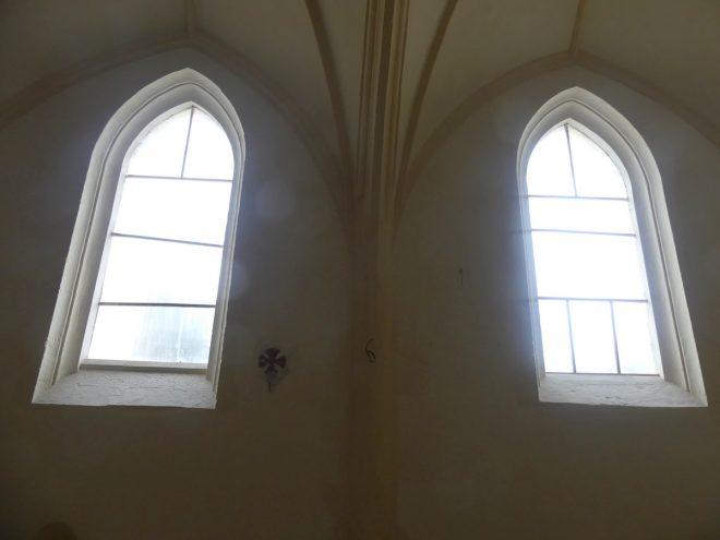 Ars - Eglise - Vitraux - 26 septembre 2019