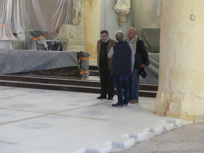 Ars- Eglise - Réunion de chantier - 11 octobre 2019