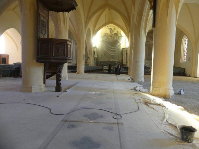 Ars - Eglise - Retable caché - 11 octobre 2019