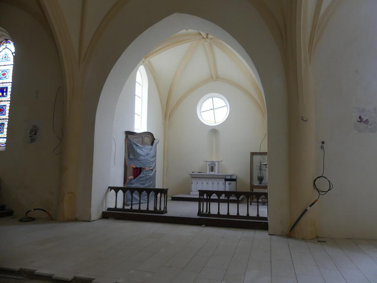 Ars - Eglise - chapelle Saint-Nicolas - 23 octobre 2019