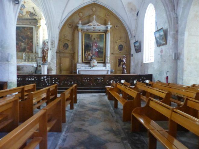 Ars - Bancs d'église - 18 juin 2018