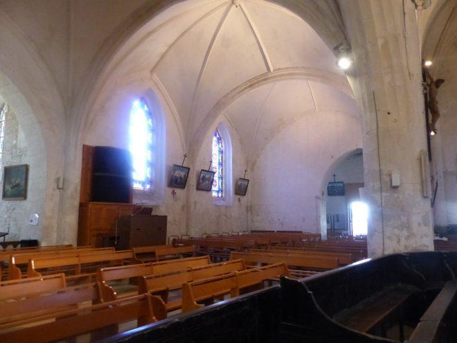 Ars - Bancs d'église - 21 juin 2018